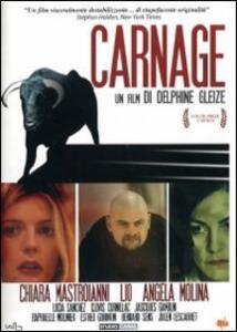 Carnage di Delphine Gleize - DVD