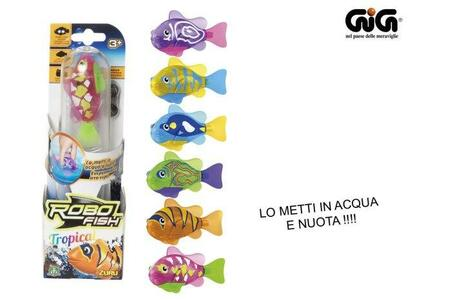 Robo Fish. Tropical. Single Pack - 2