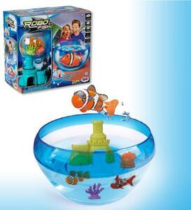Robo Fish. Playset acquario con castello - 2