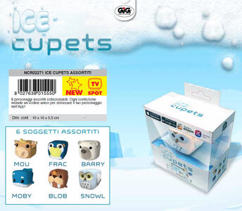 Cupets - Ice - Scatolina Personaggio Singolo