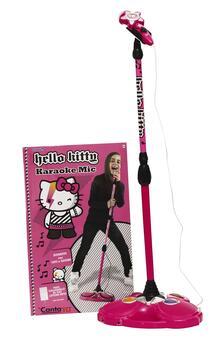 Microfono karaoke Hello Kitty