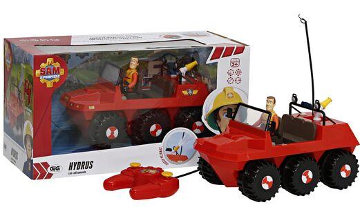 Giocattolo Sam Il Pompiere. Veicolo Land And Sea Hydrus con Radiocomando Giochi Preziosi 0