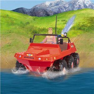 Giocattolo Sam Il Pompiere. Veicolo Land And Sea Hydrus con Radiocomando Giochi Preziosi 3