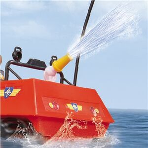 Giocattolo Sam Il Pompiere. Veicolo Land And Sea Hydrus con Radiocomando Giochi Preziosi 5