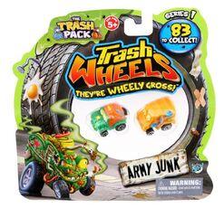 Giocattolo Trash Wheels. Blister 2 Pz Giochi Preziosi