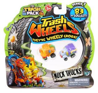 Trash Wheels. Blister 2 Pz - 7