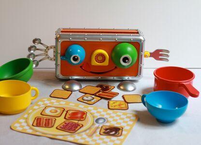 Giocattolo Crazy Toast. Ed. Italiana Rocco Giocattoli