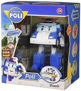 Robocar Poli Robot Trasformabile Poli C/Luci