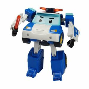 Robocar Poli Robot Trasformabile Poli C/Luci - 7