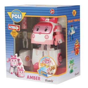Robocar Poli Robot trasformabile con Luci-Amber 16,5X13X20 8309 Rocco Giocattoli - 6