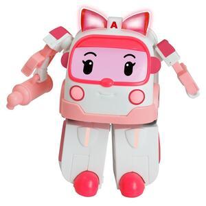 Robocar Poli Robot trasformabile con Luci-Amber 16,5X13X20 8309 Rocco Giocattoli - 8