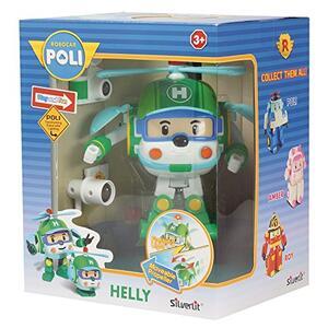Robocar Poli Robot trasformabile con Luci Helly 16,5X13X20 8309