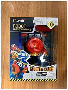 Robot Train robot trasformabili 13 cm Rocco Giocattoli - 3