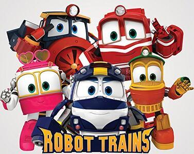 Robot trains robot trasformabile personaggio duck - 3