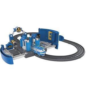 Robot trains playset stazione di lavaggio di kay