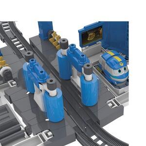 Robot trains playset stazione di lavaggio di kay - 14