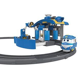 Robot trains playset stazione di lavaggio di kay - 6