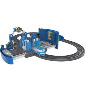Robot trains playset stazione di lavaggio di kay - 9