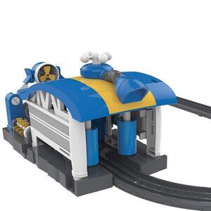 Robot trains playset stazione di lavaggio di kay - 11