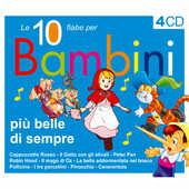 CD Le 10 fiabe per bambini più belle di sempre