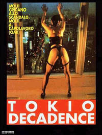 Locandina Tokyo Decadence