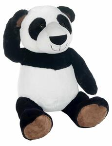 Plush Panda Seduto 70 Cm - 2