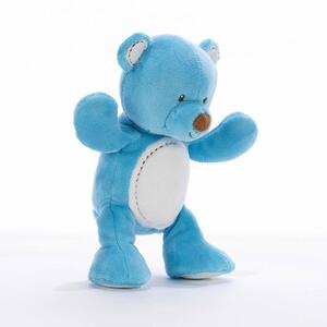Orso baby azzurro 20 cm - 2