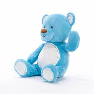 Orso baby azzurro 29 cm