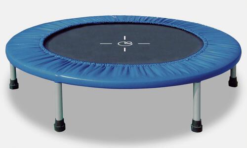 Trampolino Tappeto Elastico Diametro 122Cm Garlando Indoor Fit & Balance - 2
