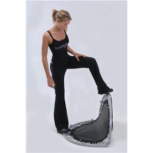Trampolino Tappeto Elastico Diametro 101Cm Garlando Indoor Fit & Balance To Go - 8