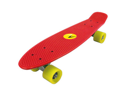 Giocattolo Skateboard Freedom Tavola Rossa. Ruote Gialle Nextreme