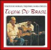 CD Toque do Brazil Toquinho Vinicius De Moraes