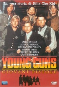 Cover Dvd Young Guns. Giovani pistole