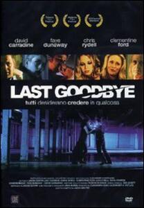 Last Goodbye di Jacob Gentry - DVD