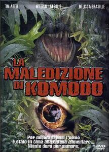 La maledizione di Komodo di Jim Wynorski - DVD