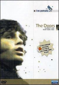 Locandina The Doors. Live Portraits. Live in Europe 1968. Live in New York 1969