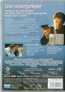 The Interpreter di Sydney Pollack - DVD - 2