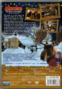 Moose. Un alce in famiglia di Ben Verbong - DVD - 2