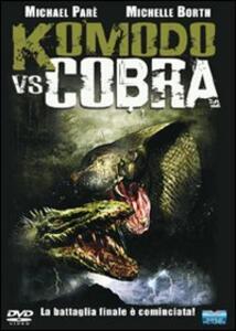 Komodo vs Cobra di Jim Wynorski - DVD