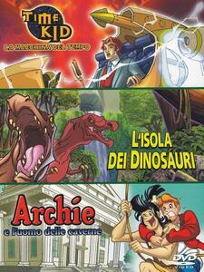 Time Kid - L'isola dei dinosauri - Archie e l'uomo delle caverne (3 DVD) di Scott Heming,Will Meugniot