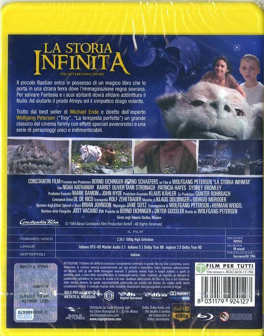 La storia infinita (Blu-ray) di Wolfgang Petersen - Blu-ray - 2