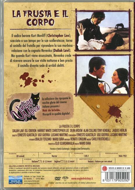 La frusta e il corpo di John M. Old - DVD - 2