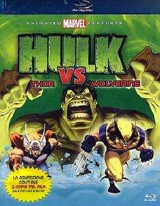 Hulk Vs. - Hulk Vs. Wolverine, Hulk Vs. Thor (2 DVD) di Sam Liu,Frank Paur