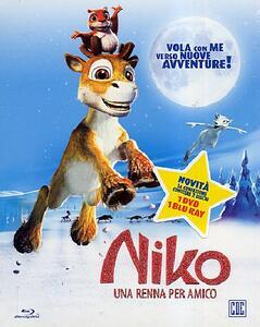 Niko. Una renna per amico (DVD + Blu-ray) di Michael Hegner,Kari Juusonen