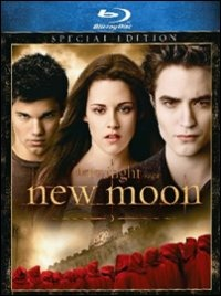 Cover Dvd New Moon. The Twilight Saga (1 disco)