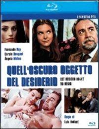 Cover Dvd Quell'oscuro oggetto del desiderio (Blu-ray)