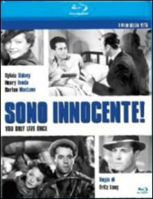 Sono innocente di Fritz Lang - Blu-ray