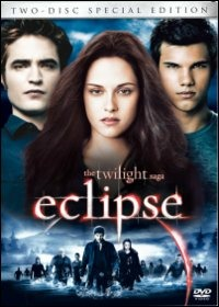Cover Dvd Eclipse. The Twilight Saga (2 DVD)
