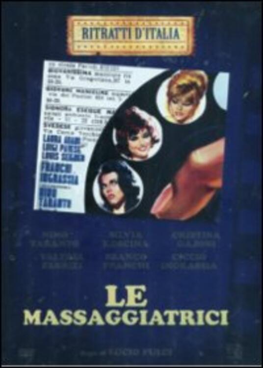 Le massaggiatrici di Lucio Fulci - DVD