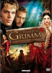I fratelli Grimm e l'incantevole strega di Terry Gilliam - DVD